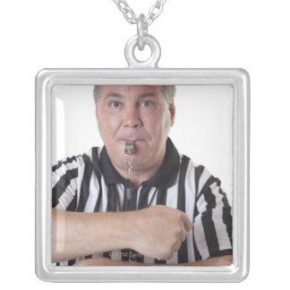 National Basketball Association- (NBA)Reisen Halskette Mit Quadratischem Anhänger