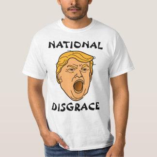Nationale Schande-Donald TrumpantiTrumpf T-Shirt