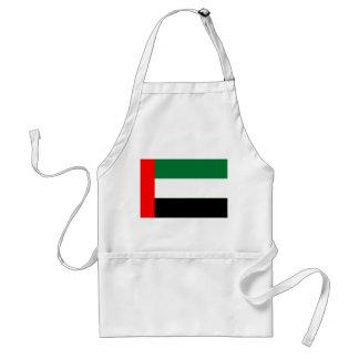 Nationale Weltflagge Arabische Emirates Schürze