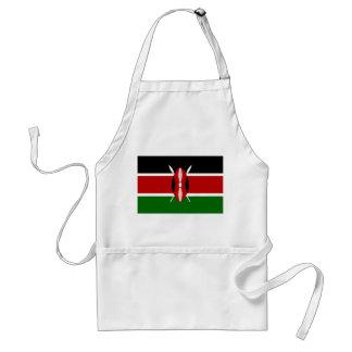 Nationale Weltflagge Kenias Schürze