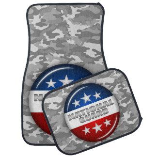 Nationaler Schutz-Emblem-Camouflage-Tarnung #2 Autofußmatte