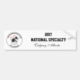 Nationaler Spezialitäten-Autoaufkleber 2017 KCC Autoaufkleber