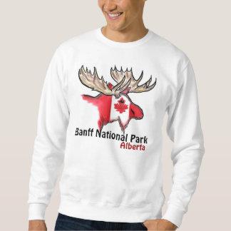 Nationalpark-Albertas Kanada Banffs Elch-Shirt Sweatshirt