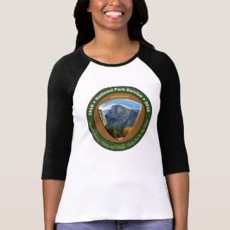Nationalpark-hundertjähriges Shirt-halbe Haube Wm T-Shirt