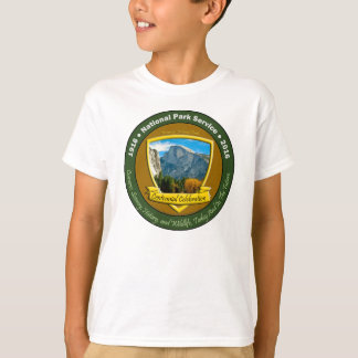 Nationalpark-hundertjähriges Shirt-halbe T-Shirt