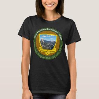 Nationalpark-hundertjähriges Shirt-Schwarzes: T-Shirt