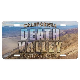 Nationalpark-Kfz-Kennzeichen Death Valley US Nummernschild