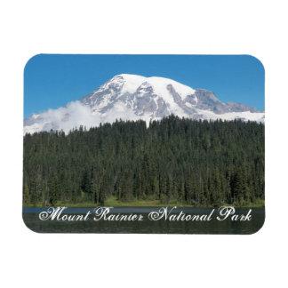 Nationalpark-Reise-Foto des Mount Rainier Magnet