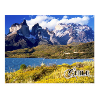 Nationalpark Torres Del Paine, Chile Postkarte
