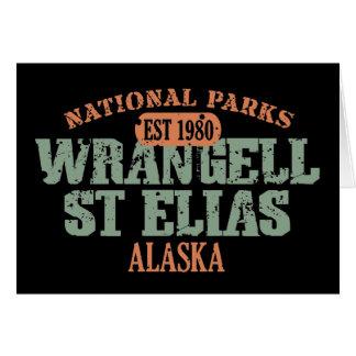 Nationalpark Wrangell St. Elias Karte