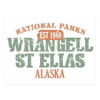 Nationalpark Wrangell St. Elias Postkarte
