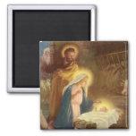 Nativité vintage de Noël, bébé Jésus de Mary Aimant