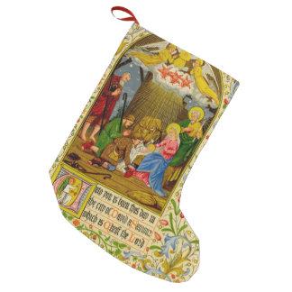Nativity | an Sie ist dieser Tag geboren Kleiner Weihnachtsstrumpf