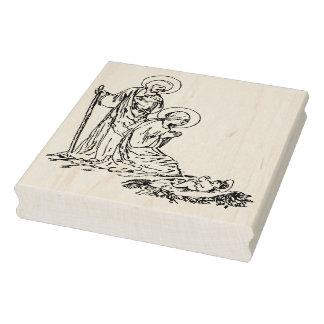 Nativitybaby Jesus-Illustrationskunst-Briefmarke Gummistempel