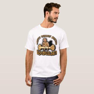 """Natty Erdnussbutter-Bodybuilder-"" weißer T - T-Shirt"
