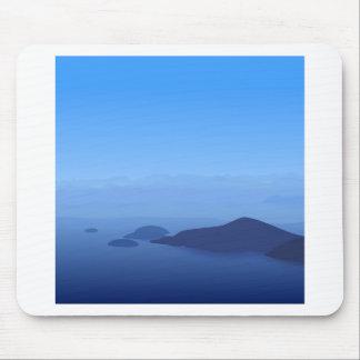 Natur-Himmel-Blau-Wirklichkeit oder nicht Mousepad