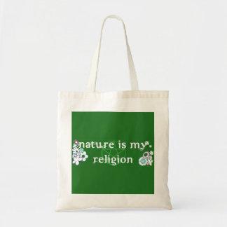 Natur ist meine Religions-Taschentasche Tragetasche