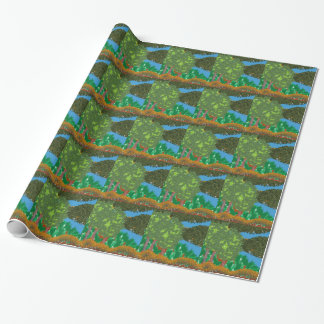 Natur-Landschaft Geschenkpapier
