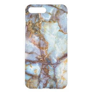 Natur-Marmorsteingoldbeschaffenheit iPhone 8 Plus/7 Plus Hülle