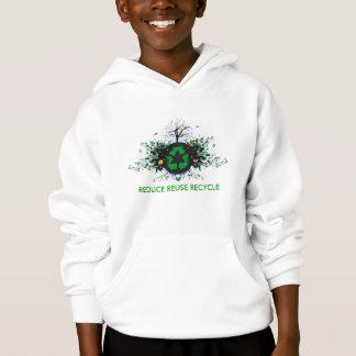 Natur recycelt hoodie