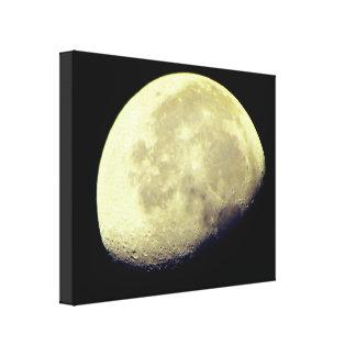 Natur-Wunder: Der Mond Leinwanddruck