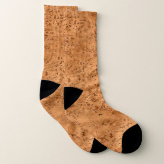 Naturkork-Blick-Holz-Korn Socken