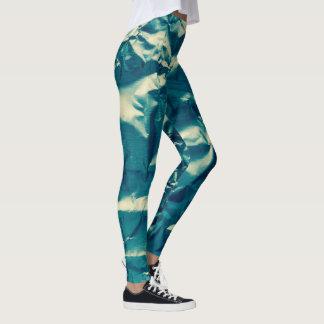 Natürliche Camouflage gekrümmter Blick 4Tracee Leggings