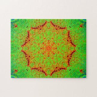 Natürliche Farbstern-Mandala