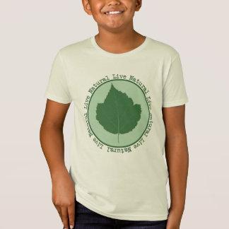Natürliche lebhaftkinder Bio T-Shirt