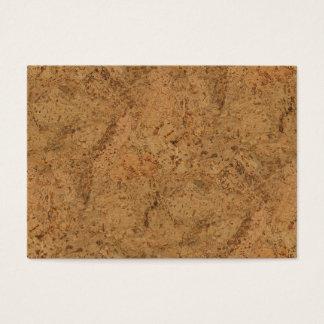 Natürliche Rauch-Korken-Barken-hölzerner Visitenkarte