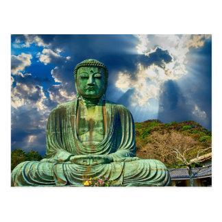 Natürliche Statue-Postkarte Buddhas Postkarte