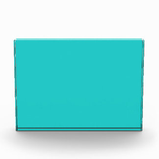 Natürlichen Robins Ei-Blau-Farbe Acryl Auszeichnung