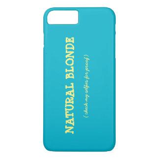 Natürlicher blonder IPhone Fall iPhone 8 Plus/7 Plus Hülle