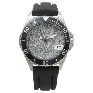 Natürliches Steinbild des GRANITS | Uhr