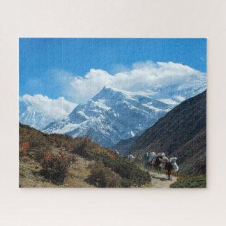 Naturschnee Himalaja-Gebirgsindiens Nepal