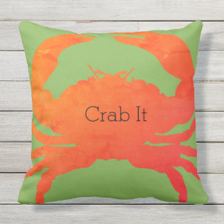 Nautical-Crab-It_Paprika u. Meergrün Kissen