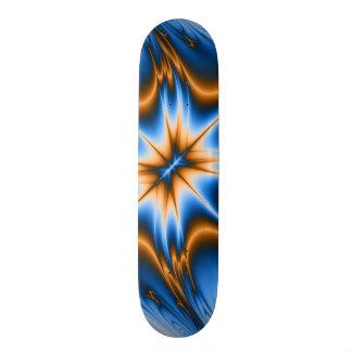 Navajo-Fraktal-Stern Skateboardbrett