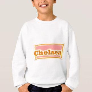 NAVIN eleganter Text Sweatshirt
