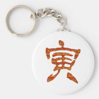navinJOSHI NVN30 chinesisches Schriftzeichen Standard Runder Schlüsselanhänger