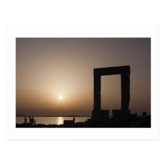 Naxos, Griechenland Postkarte