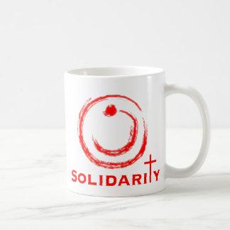 Nazaräer-solidaritäts-Rot Kaffeetasse