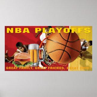 NBA Basketball-Endspiel-Fahne Poster