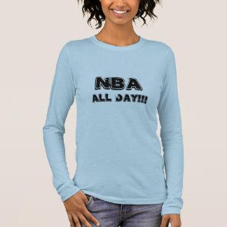 NBA den ganzen Tag Langärmeliges T-Shirt