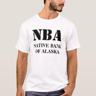 NBA, GEBÜRTIGES BANKOF ALASKA T-Shirt