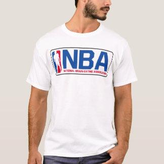 NBA nationale Gehirn-Essen Vereinigung T T-Shirt