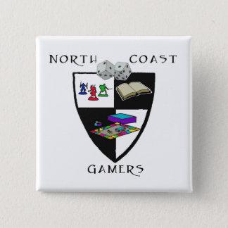 NCG Knopf Quadratischer Button 5,1 Cm