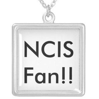 NCIS Fan!! Halskette Mit Quadratischem Anhänger