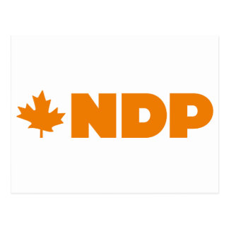 NDP Logo Postkarte