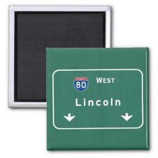 Ne-Autobahn-Autobahn Lincolns Nebraska: Quadratischer Magnet