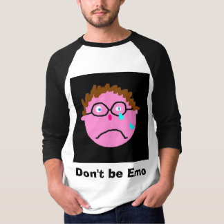 Ne soyez pas Emo, soit émeu ! Tshirts